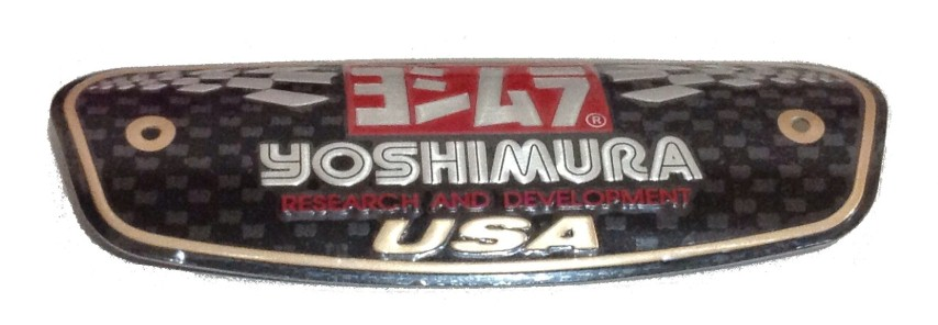 Yoshimura Exhaust Badge